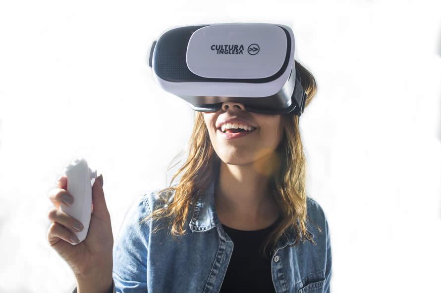 Case de Sucesso Cultura Inglesa  Óculos de Realidade Virtual