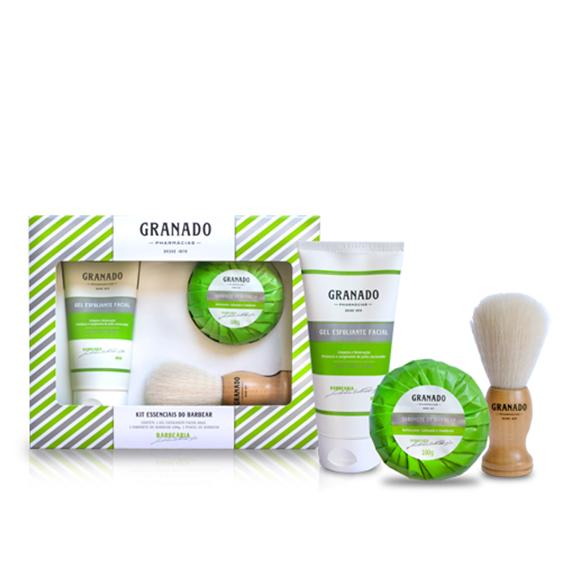 Kit Granado Essenciais do Barbear