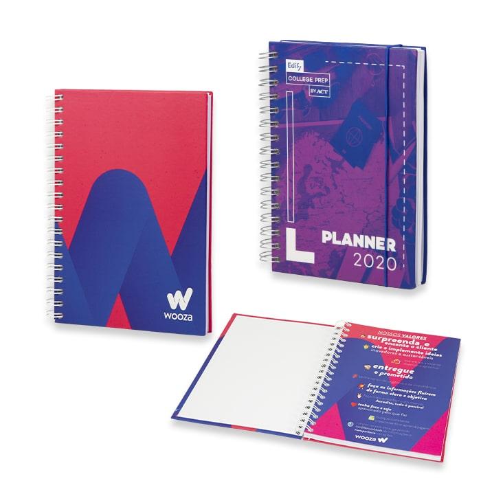 Caderno Customizado MD Folha de Rosto