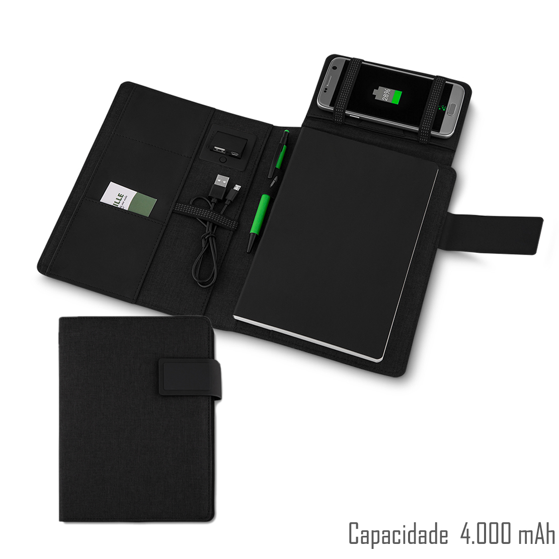 Caderno Power Bank 240