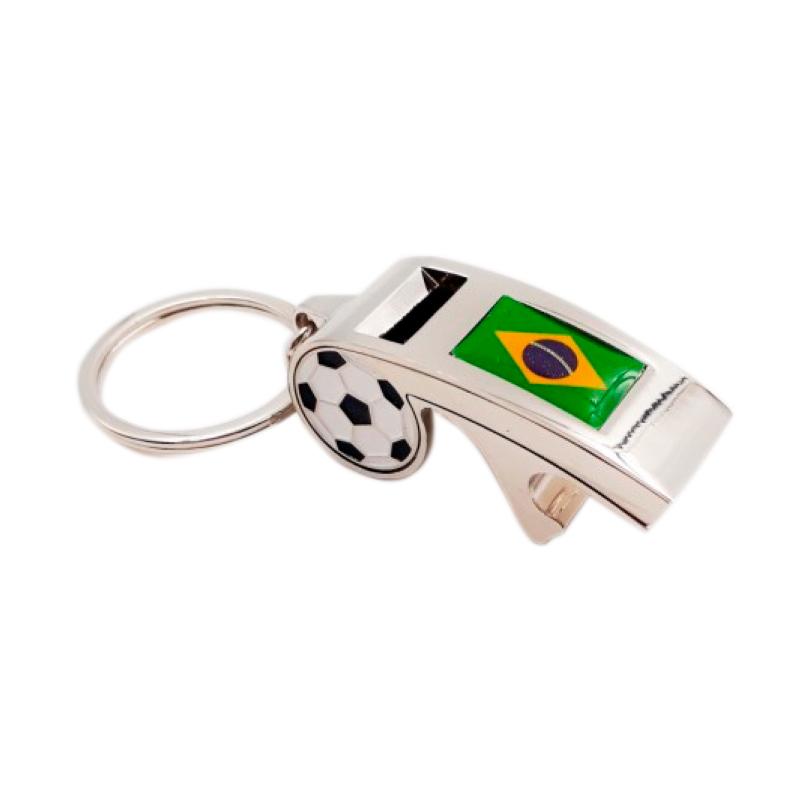 Chaveiro Apito Brasil