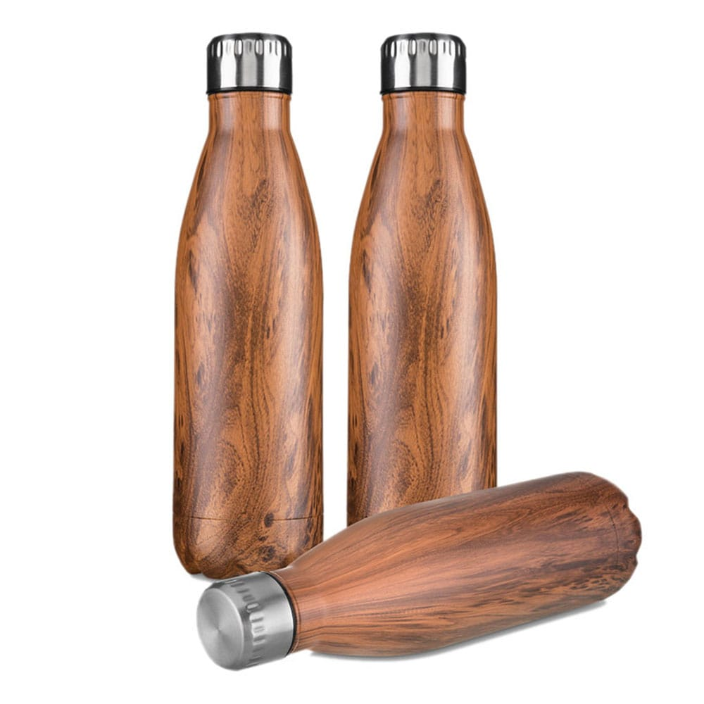 Garrafa Steel Wood