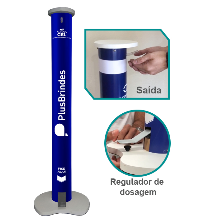 Totem Dispenser Plus Gel