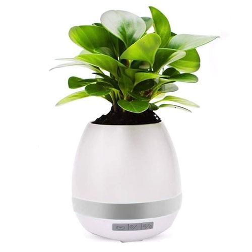 Vaso Caixa de Som Bluetooth com Led